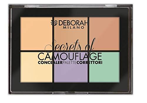 Deborah Milano Secrets Of Camouflage Concealer Palette, Multicolor, 12 g