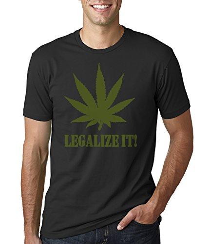 Silk Road Tees Hombres Marihuana Camiseta Weed Legalize Camiseta