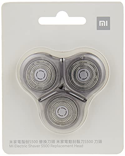 Xiaomi Mi Electric Shaver S500 - Cabezal de repuesto, Negro (6934177717192)