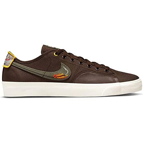 Nike SB Blazer Court Daan Van Der Linden - Zapatillas para hombre, color Marrón, talla 42 EU