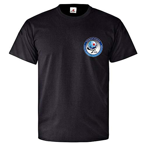 ALFASHIRT DGSE Emblem Badge Intelligence Service Foreign Espionage France Black