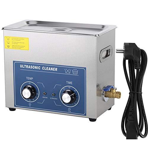 Cocoarm 6L Ultraschallreinigungsgerät Ultraschallreiniger Ultraschallbad Reinigungsgerät Ultrasonic für Schmuck Brille Dental