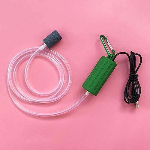 Yezen Aquarium Fish Tank, Mini Oxygen Air Pump Mute Energy Saving Compressor Supplies Portable USB, Useful -  U1NL133217V165
