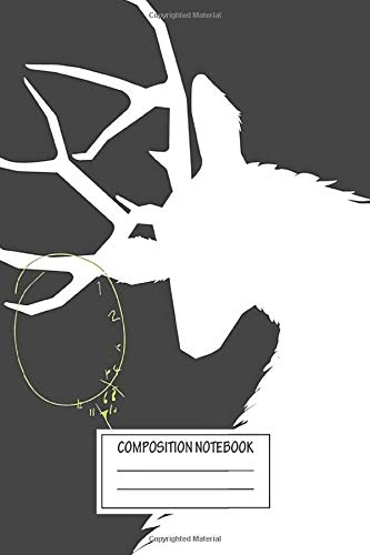 Notebook: Hannibal Ravenstag Silhouette Charcoal , Journal for Writing, Size 6' x 9', 164 Pages