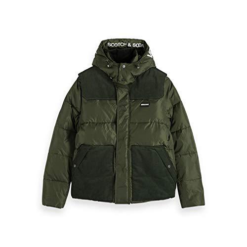 Scotch & Soda Herren Jacke Quilted Jacket 151996 Military L