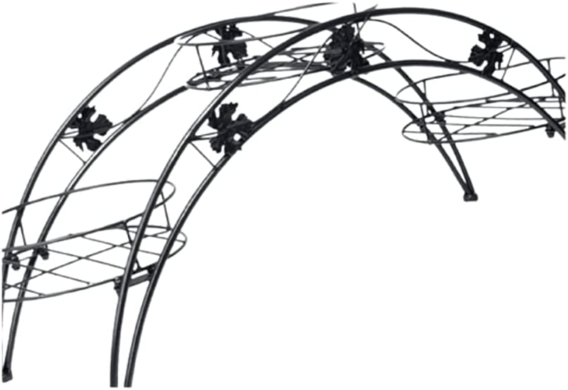 3 Holders Potted Plant Rack Minneapolis Mall Organizer Limited time cheap sale Metal Arch St