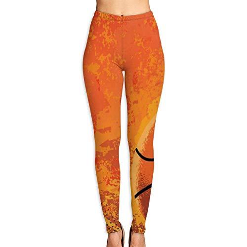 YBRB Basketball3 Frauen Lustige Print Yoga Leggings Hosen Workout Fitness Hosen Sport Gym Yoga Quick Dry Capri Leggings