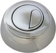 Regiplast 260DB dubbele knop met kabel voor mechanisme 26000, zilverkleurig