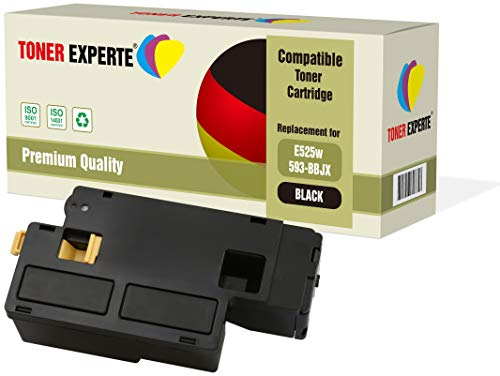 TONER EXPERTE Compatible with 593-BBLN Black Premium Toner Cartridge for Dell E525w
