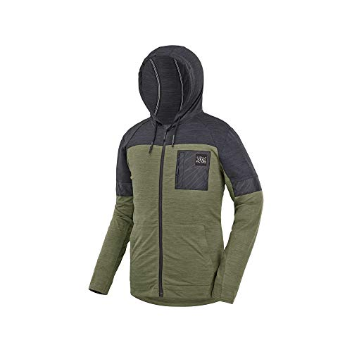 Picture Organic Clothing Campe Zip Tech Hoodie Kaki S