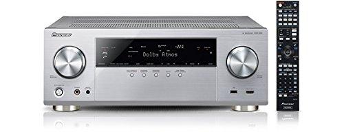 Pioneer VSX-930-S 7.2 Netzwerk-Mehrkanal Receiver (165 Watt Pro Kanal, Dolby Atmos, WiFi, Bluetooth, Ultra-HD Video Scaler, HDCP 2.2, App Steuerung, Airplay, DLNA, Internetradio, Spotify Connect) silber