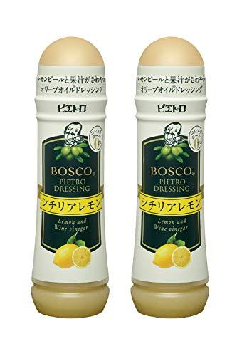 ピエトロドレッシング「BOSCO(R)」シチリアレモン180ml2個セット
