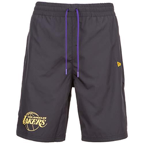 New Era NBA Established Date Los Angeles Lakers Short Herren schwarz, L