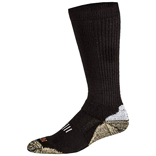 5.11 Tactical Series 511-10024 Chaussettes Mixte Adulte, Noir, FR : S (Taille Fabricant : S)