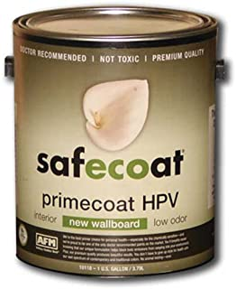 Afm Safecoat New Wallboard Hpv Flat Finish Primer, White Gallon Can 1/Case