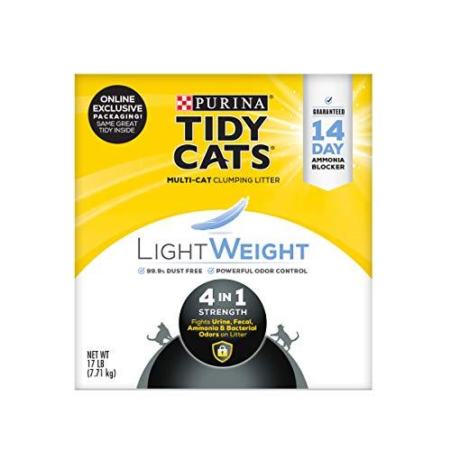Purina Tidy Cats Light Weight, Low Dust, Clumping Cat Litter,...