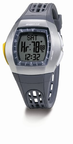 Sportline Damen Herzfrequenz-Uhr Duo 1025, grey, one size