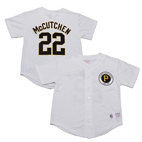 Outerstuff Andrew McCutchen Pittsburgh Pirates White Youth Player Jersey (X-Large 18/20)