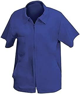 Shaving Factory Barber Jacket, Ocean Blue, Medium