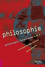 Philosophie Anthologie Tles L-ES-S de Gérard Durozoi