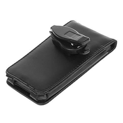 YoungerY (1PC para iPod Classic 80/120/160 Funda de Cuero Abierta Superior e Inferior con Clip de Cintura Desmontable
