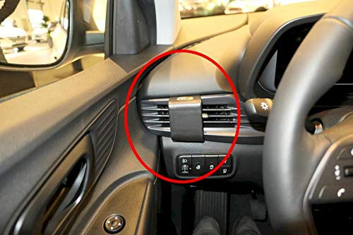 Brodit ProClip 805660 - Soporte de Coche para vehículos con Volante a la Izquierda, Apto para Todos los Soportes Brodit