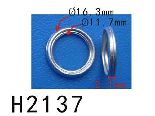 Autobahn88 Oil Transmission Pan Drain Plug Gasket Kit Clip, Model PF-H2137 (Reference OEM: 3517830010) (Pack of 5)