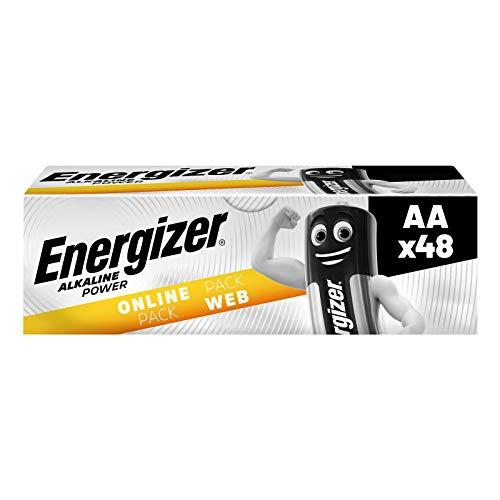 Energizer Batterien AA, Alkaline Power, 48er Pack