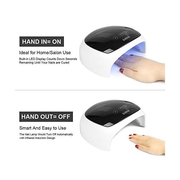 Lámpara para uñas LED UV Uñas SUERW 36W
