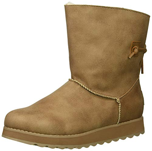 of halife maxi dresses dec 2021 theres one clear winner Skechers Women's Keepsakes 2.0-Mid Pull on Boot with Back Tie Fashion