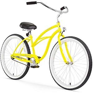 "Matte Black 26/"" Firmstrong Urban Lady Single Speed Women/'s Beach Cruiser Bike"