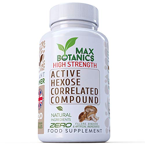 Active Hexose Correlated Compound 600mg Shiitake Mushroom (No Fillers or Binders)