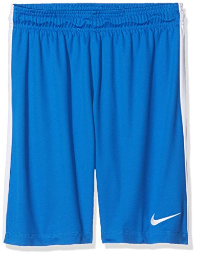 Nike Kinder League Knit Youth Shorts, royal Blue/White, XS