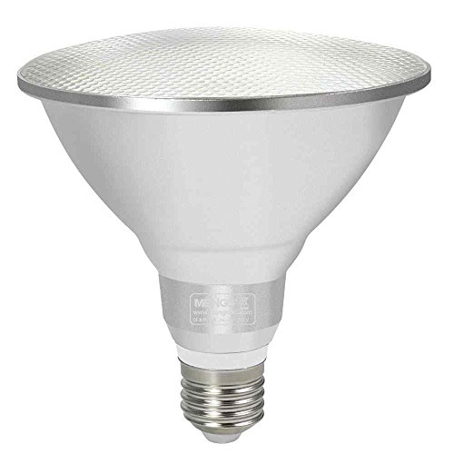 GRANVOO Impermeable Bombilla LED E27 PAR38 Lámpara LED 15W Equivalente a 120W 1200lm Blanca fría AC 85-265V 30X5630 SMD
