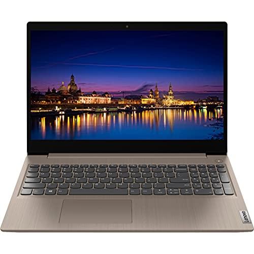 "2021 Newest Lenovo Ideapad 3 Laptop, 15.6"" Full HD Non-Touch Display, Intel Core i7-1065G7 Quad-Core Processor, 8GB RAM, 256GB PCIe NVMe SSD, Webcam, WiFi, HDMI, Windows 10 Home, Almond"