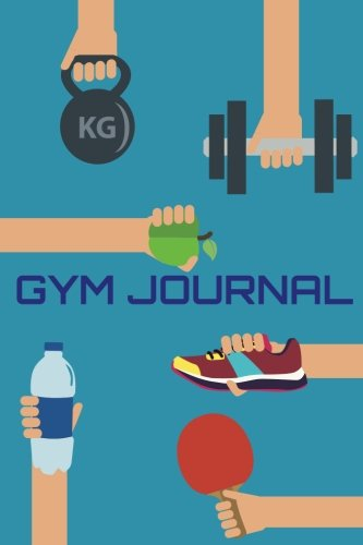 Gym Journal: 6'x9' Undated Fitness and Workout Journal Notebook(Fitness Journal) - Personal Trainer Log Book: Gym Journal: Volume 5