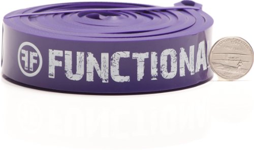 Functional Fitness FF Powerlifting Band - #4 Purple - 40-80 lbs. (18-36 kg) Resistance