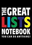 The Great Lists Notebook (You can do anything!): (Black Edition) Fun notebook 192 lined pages (A4 / 8.27x11.69 inches / 21x29.7cm)