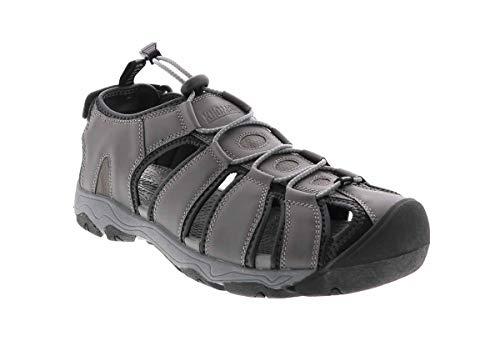Khombu Trevor Sandal Grey in Size 10