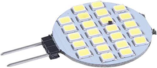 G4 1210 SMD 24 LED Ampoule Ampoule Lampe Spot Blanc 6000-6500K 12V pour Extérieur