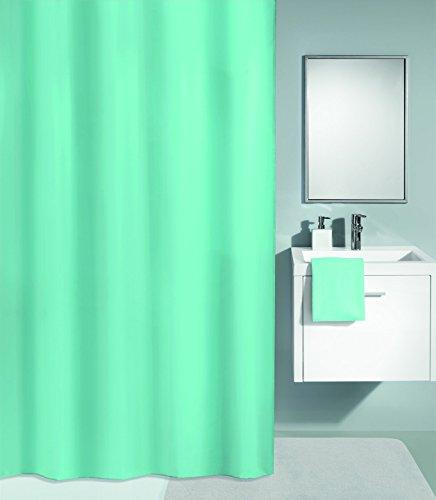 Kleine Wolke Textilgesellschaft Duschvorhang, Kunstfaser, Grün, 200 x 120 cm