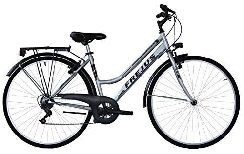 Frejus, City Bike Donna Women's, Argento, L