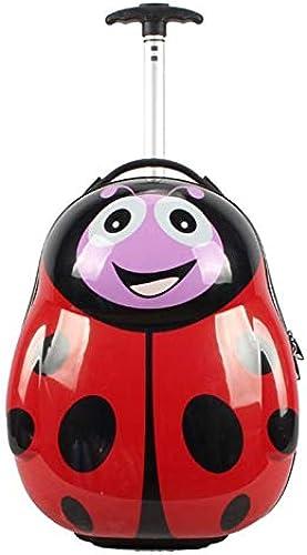 mejor opcion Qp-sb Maleta de de de la Escuela Primaria Estudiante Maleta rojoonda Caja de Trolley de los Niños de Dibujos Animados Bolsa de Trolley de Animales  n ° 1 en línea