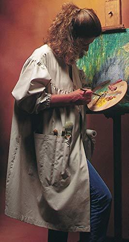 Corot ABLF Modelo Mujer Bata de Pintura Beige 102x 160x 1cm