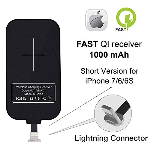 Nillkin Magic Tag Qi cargador inalámbrico receptor chip módulo de parche para iPhone 7/7 Plus/6/6S/6S Plus/5S