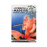 Vintage-Reise-Poster, Madeira, Leinwand-Poster,