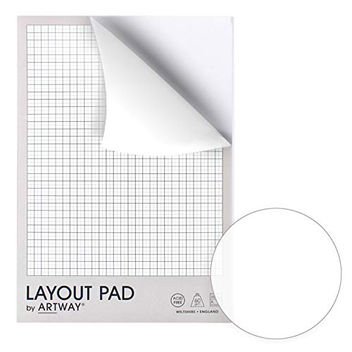 Artway Layout Pad-60gsm, Paper, A4