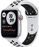 Apple Watch Nike Series 6 GPS + Cellular 44Mm Aluminio Plata + Correa Nike Sport Platino/Negro
