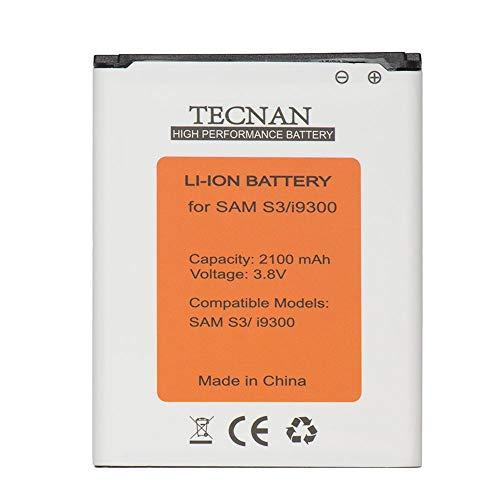 PLT24 Li-Ion 2300 mAh Akku für Samsung Galaxy S3 i9300 GT-i9300 / S3 neo i9301/ i9305 LTE/ersetzt EB-L1G6LLU Handy Ersatzakku Batterie Battery Handyakku (Akku S3) Ohne NFC