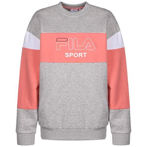 Fila Lana Crew Sweatshirt Damen grau/korall, S